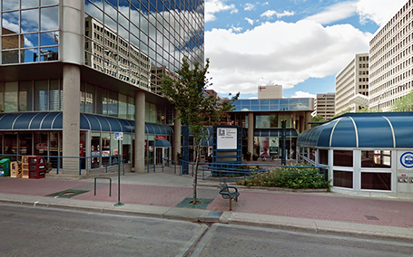 Location of Edmonton Office